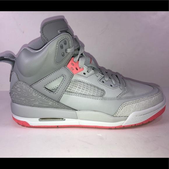 7e478eb065d30c Air Jordan Spizike GG Grey   Pink Basketball Shoes